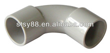 AS 2053 Electrical PVC Conduit Fittings 90 Degree Solid Elbow