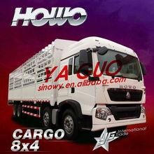 sinotruk-Howo T5 8*4 cargo truck also provide food van