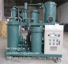 Vacuum oil treatment machine for used lubricanting oil reconditioning, engine oil filtraiton etc