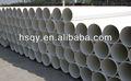 140 mm de agua de drenaje tubería de alcantarillado de PVC encargo sanitaria tubos accesorios
