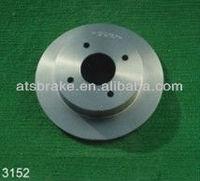 Gray Iron Nissan 180SX 280ZX Rear Brake Disc 43206N9501