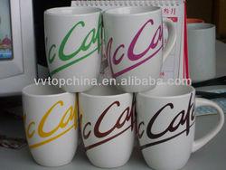 coco cola brand stoneware material 12oz mug