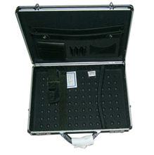 Black Business Aluminum Briefcase For Salesman VB-0445