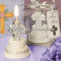2013 más reciente decorativo de la torta con cruz de la vela del Favor