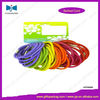 Colored Round Barb Locked Hair Elastic Band
