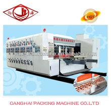 High speed Corrugated carton print machine