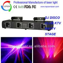 Multi head laser light show machine DMX control