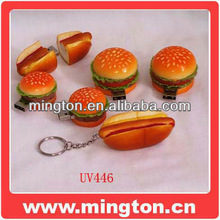 Hamburger usb stick food