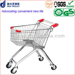 european style hand trolley for shopping