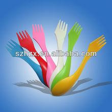 food grade camping plastic sporks knives