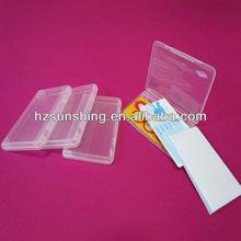 mobile phone card plastic box