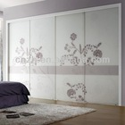 European style bedroom wardrobe door designs for home furniture