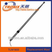 sus304 replacement car antenna /universal radio antenna mast power telescoping TLN1905( OEM Factory)