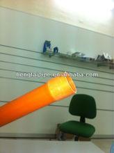 Orange pvc pipe