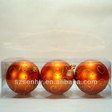 Elegant christmas decorative balls, beautiful christmas ball decorations