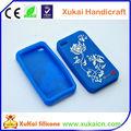 estilo chino de silicona caso de teléfono