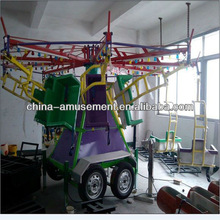 alibaba fr outdoor playground portable amusement rides kids flying chairs for sale