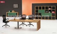 FKS-OMS-MTWD1 Office furniture solid wood veneer meeting table