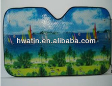 Promotion with LOGO Front Windows Car Sunshade supplier in China