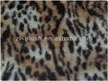 animal pintado leapord peles artificiais de tecido