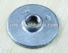 floor flange,malleable iron material class #150 BS standard