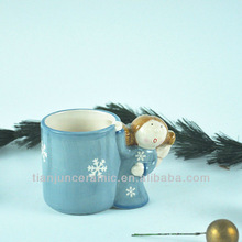 Angel Decorative Ceramic Cup for Christmas Gift