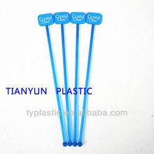 plastic swizzle sticks with square top