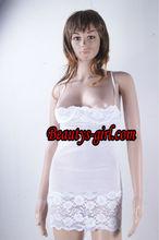 white sleepwear,fashion sleepwear ,nightwear ,nightgown ,silk robe