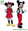 Hi EN 71 mickey mouse e minnie mouse do traje da mascote