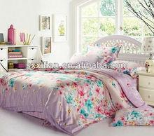European elegant print 100% tencel bedding set/linen/sheet/duvet cover