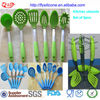 Set Of 6pcs Silicone Cooking Tools Kitchen Gadget And Its Uses With Comfortable Handle