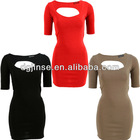 Bandage dresses&back open dress with factory price
