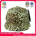 leopardo piatto bolletta snapback cappello hip pop cappello