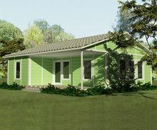 prefabricated resort house,light steel homes,