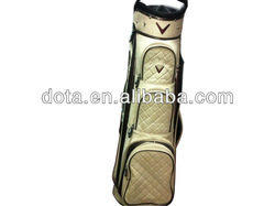 PU leather fashionable integrated golf bag