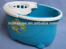 2013 new plastic mop bucket,twist mop with spin bucket,mop wringer bucket
