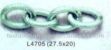 matte gold color aluminium chain for jewelry