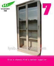 modern design metal sliding door wardrobe closet