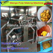 High quality multifunctional peach, apricot, mango 7.5Kw total 304 stainless steel mango pulp machine
