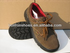 PU injection nubuck leather working shoes