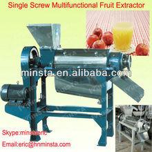 Stainless Steel 300-500kg Industrial Screw soursop juice machine