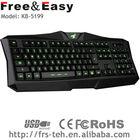 usb led backlit keyboard gaming led backlight keyboard