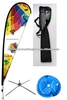 Cheap outdoor advertising display banner,Teardrop flag