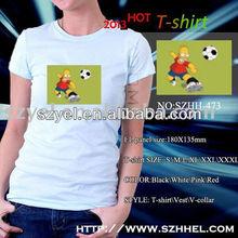 China led t shirt factory supply, football led flashing products online shopping
