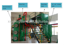 2012 hot sales automatic sesame cooking oil refining machine