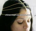 Goddess Headdress - Gold Head Chain - Headpiece