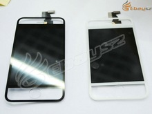 Hot Selling LCD Display Screen Assemble for iPhone 4 4S Transparent