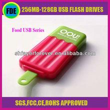 Novelty Foods Shape Promotional Full Capacity 1-16GB Memory Flash Disk Fancy Food USB