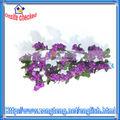 seta viola glicine ghirlanda di fiori di nozze