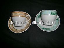 Porcleian 180cc Coffee Cup&Saucer